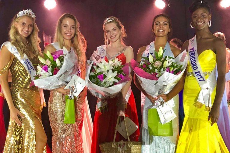 Elodie Humbert, élue Miss Périgord 2018