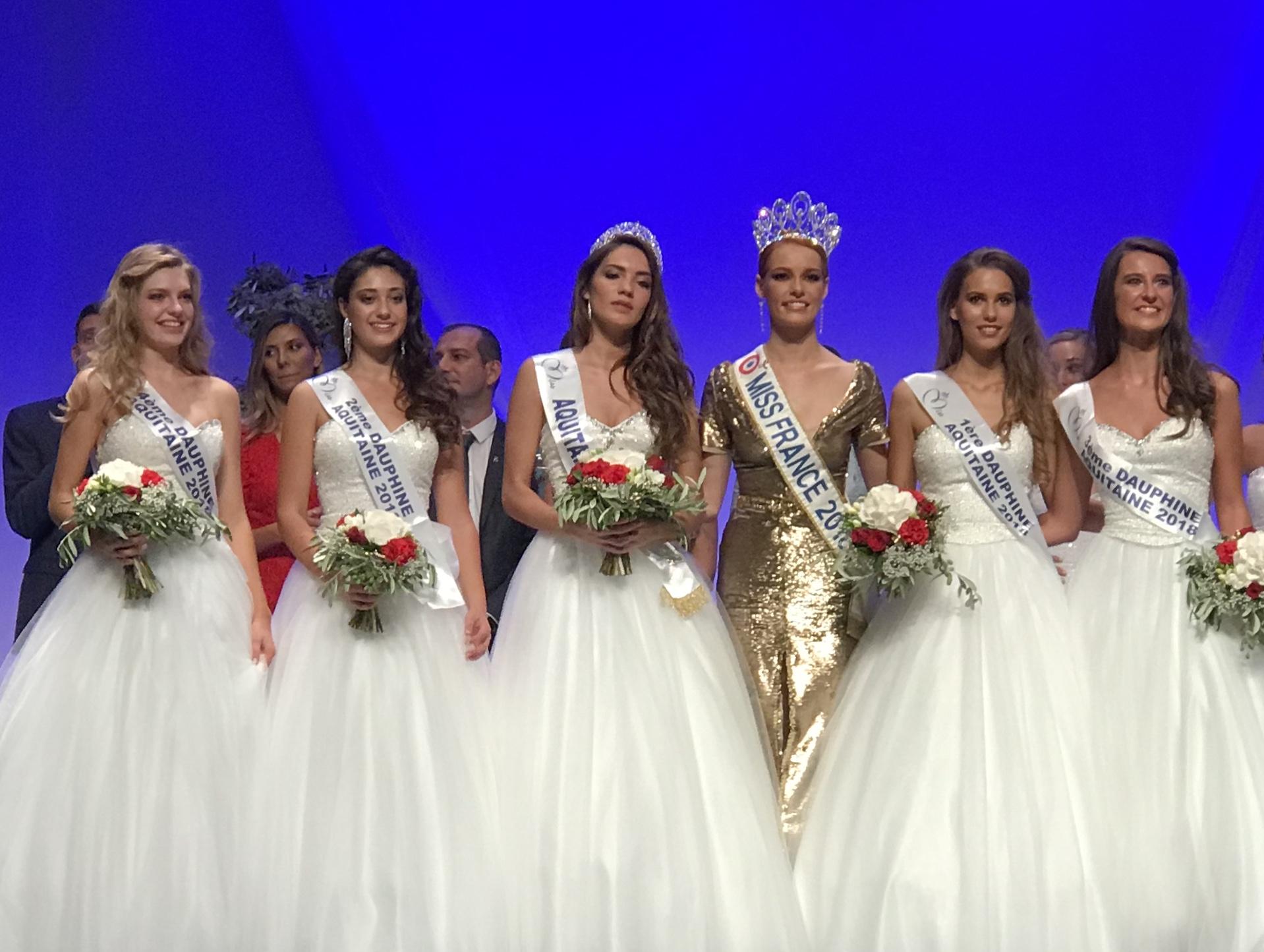 Elodie Humbert 4ème Dauphine de Miss Aquitaine 2018