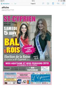 Bal des Rois  / Election de la Reine du Canton 2019