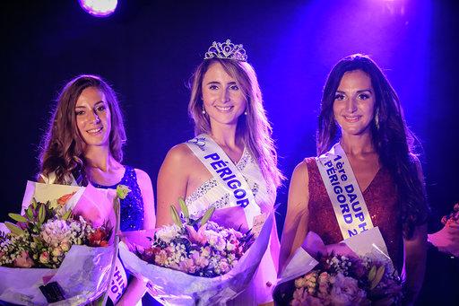Janique Ardouin Elue Miss Périgord 2019