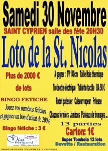 Loto de la St Nicolas