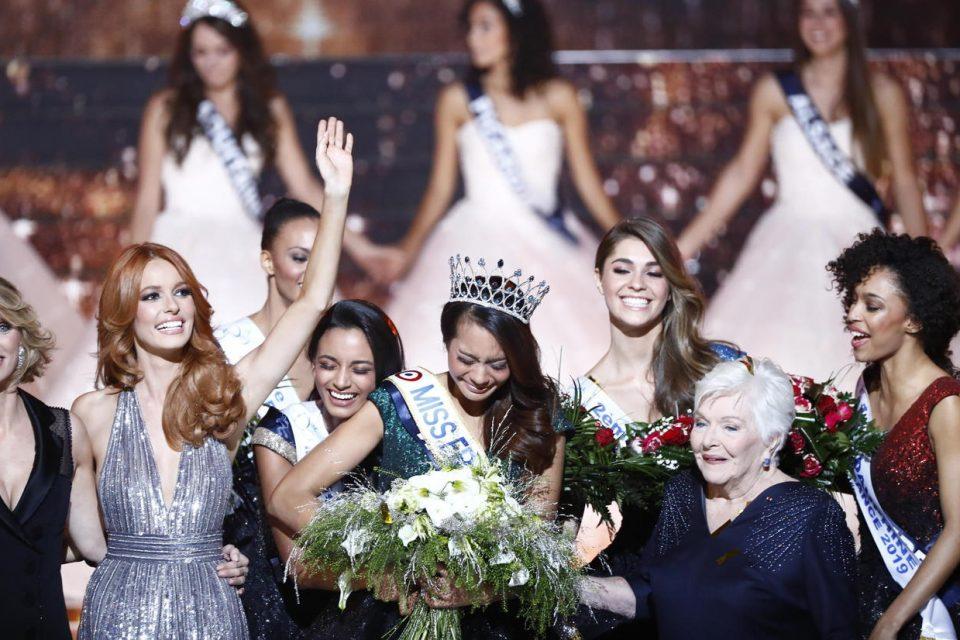 Lille, Nord, France, le 15/12/2018. Concours Miss France 2019 Miss Tahiti est élue Miss France.